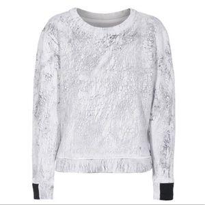 Aiko Printed Sweatshirt marbled